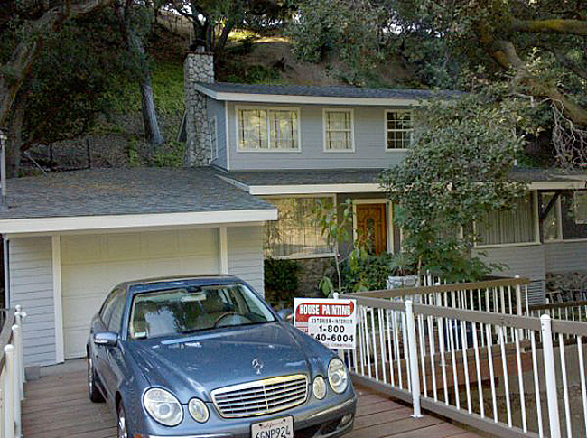 Finished Exterior House in La Crescenta