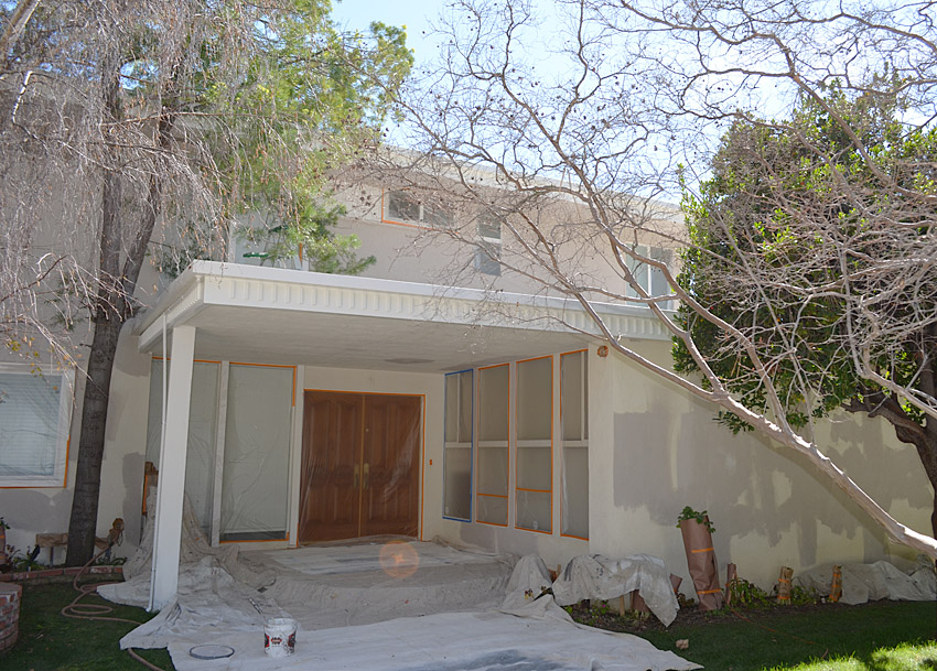 Finished Exterior House in North Hollywood