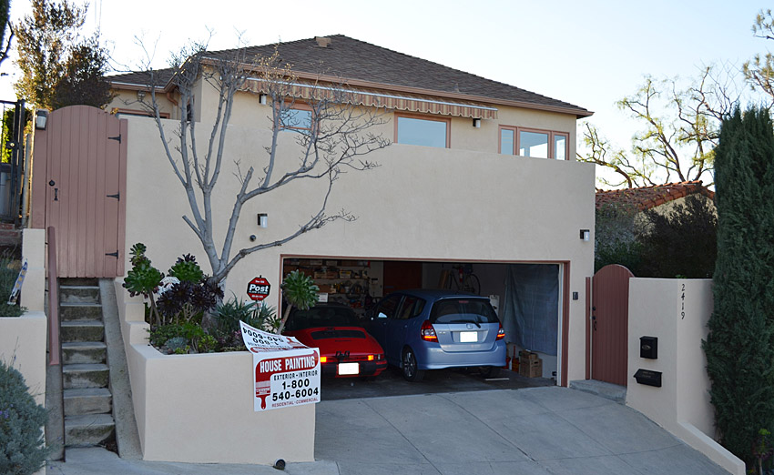 Finished Exterior House in Rowland Heights