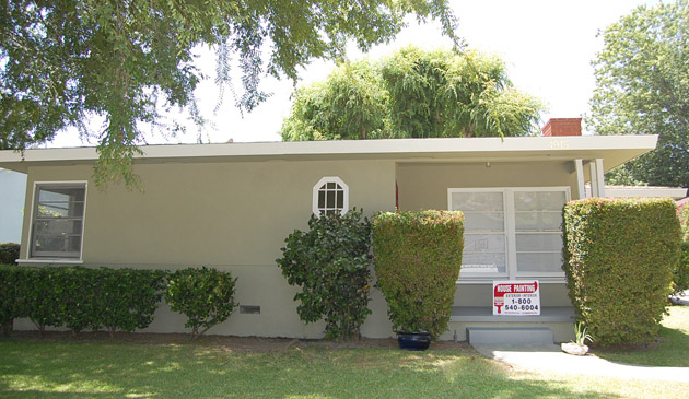 Finished Exterior House in Van Nuys
