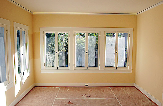 Finished interior painting of house in Reseda